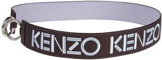 Kenzo Logo Embroidered Bag Strap