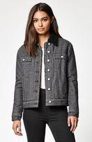 KENDALL + KYLIE Kendall & Kylie Sherpa Lined Denim Jacket