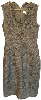 Burberry Khaki Lace Dresses