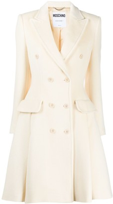 Moschino Double-Breasted Coat