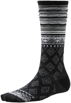 Smartwool Black Rocking Rhombus Merino-Blend Crew Socks - Women