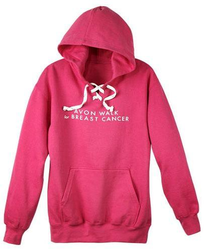 Avon Walk Pink Hoodie in Small only
