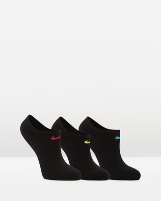 Nike 3-Pack Performance Cushion No Show Training Socks - Women's