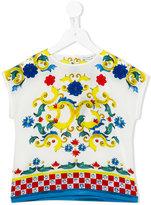 Dolce & Gabbana printed T-shirt - kids - Silk/Cotton - 4 yrs