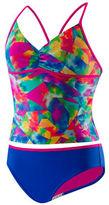 Speedo Girls 7-16 Crisscross Back Swimsuit
