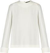 Haider Ackermann Glyzinie crepe blouse