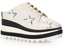 Stella McCartney Women's Elyse Mule Wedge Platform Sneakers