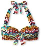 Jantzen Women's Tulum Tie Front Halter Bra