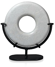 Jamie Young Large Marble Ring Sculpture