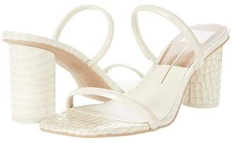 Dolce Vita Noles Patent (Ivory Patent Croco Leather) Women's Shoes