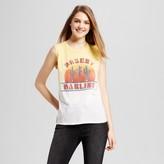 Freeze Women's Desert Darling Muscle Tank Yellow Orange Juniors')