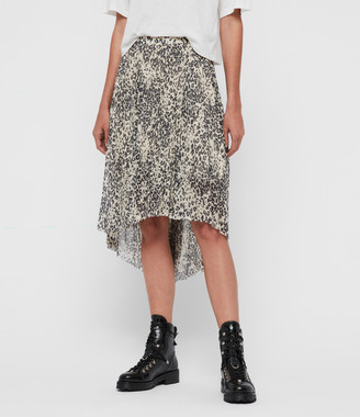AllSaints Lea Patch Long Skirt