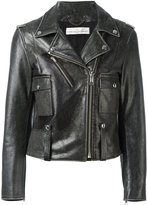 Golden Goose Deluxe Brand 'Chiodo' biker jacket - women - Cotton/Leather/Viscose - S