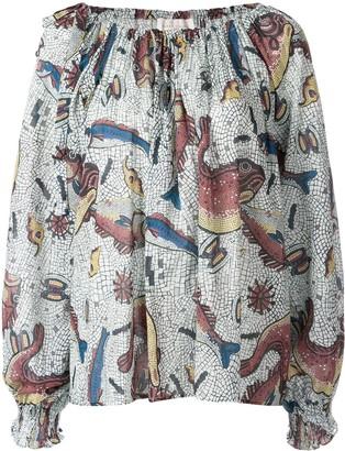 Karen Walker Theia blouse