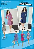 Simplicity Sewing Pattern 2145 Misses' Dresses Inspired by Project Runway Collection