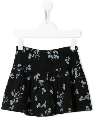Bonpoint Cherry Print Short Skirt