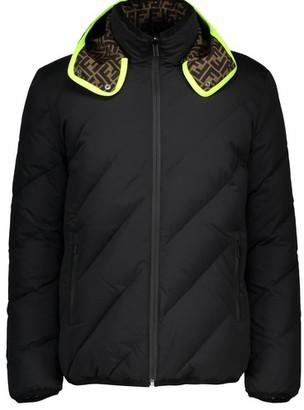 Fendi Reversible Padded Logo Jacket