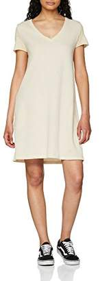 The Hip Tee Women's Brasia Dress, (Vintage White 0203), (Size: 0203-S/M)