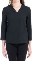 Max Studio Wool V-Neck Pullover