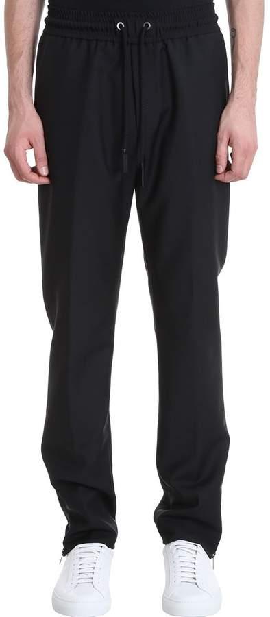 Givenchy Black Wool Pants