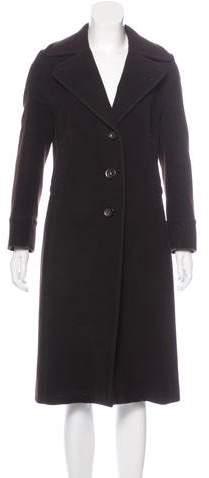 Akris Punto Wool-Blend Long Coat