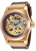 Invicta Men's 80097 Corduba Analog Display Mechanical Hand Wind Brown Watch