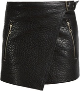 Etoile Isabel Marant Kakili bubbled-leather mini skirt