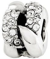 Swarovski Prerogatives Sterling Crystal Link Pattern Bead