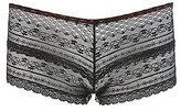 Charlotte Russe Sheer Lace Cut-Out Cheeky Panties