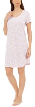 Charter Club Cotton Sleep Shirt Nightgown, Created for Macy's