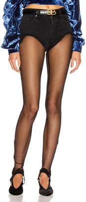 Y/Project Stirrup Short Pant in Black | FWRD