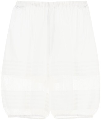Dolce & Gabbana Lace-Trimmed Shorts