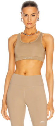 7 Days Active KK Sports Bra in Sand | FWRD