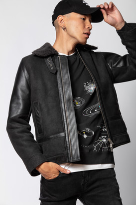 Zadig & Voltaire Lou Shearling Jacket