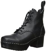 Swedish Hasbeens Women's Grandma Plateau Platform Boot