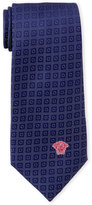 Versace Circle-and-Square Silk Tie