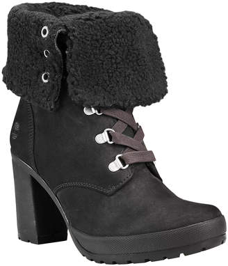 Timberland Women's Cold Weather Boots BLACK - Black Camdale Fold-Down Leather Cold Weather Boot - Women