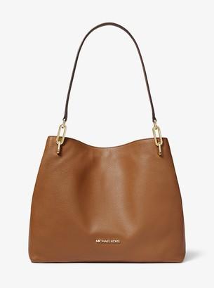 MICHAEL Michael Kors Leighton Large Pebbled Leather Shoulder Bag
