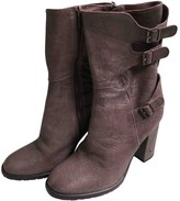 Non Signã© / Unsigned Non SignA / Unsigned Brown Leather Boots