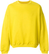 Represent classic fitted sweatshirt
