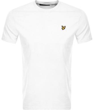 Lyle & Scott Crew Neck T Shirt White