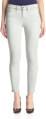 Yummie Women's Modern Mid Rise Slimming Ankle Denim Jeans