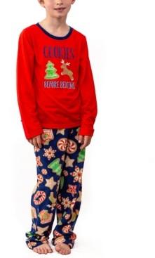 Secret Santa Matching Kid's Baking Team Pajama Set, Online Only