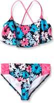 Kanu Surf Big Girls Allison Flounce Bikini Swimsuit