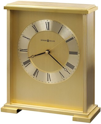 Howard Miller Exton Contemporary, Modern, Glam, Transitional Style Mantel Clock, Reloj del Estante