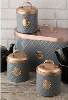 Typhoon Living Tea, Coffee and Sugar Storage Canisters Copper