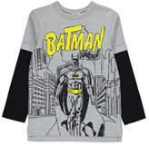 Batman George Contrast Sleeve Top