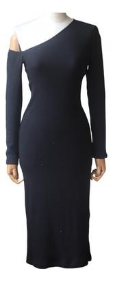 Enza Costa Black Polyester Dresses