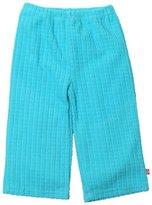 Zutano Waffle Cozie Fleece Pants (Toddler) - Pool-2T