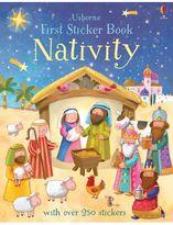 Harper Collins First Sticker Book Nativity